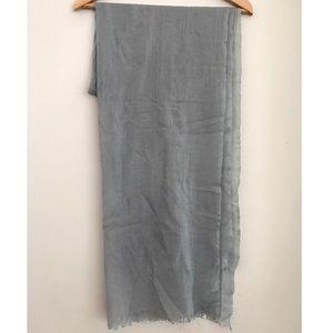 Light blue 100% pashmina shawl